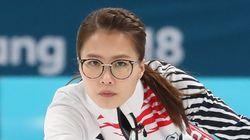 '안경 선배' 김은정이 폐회식 직전 '영미' 대신 외친