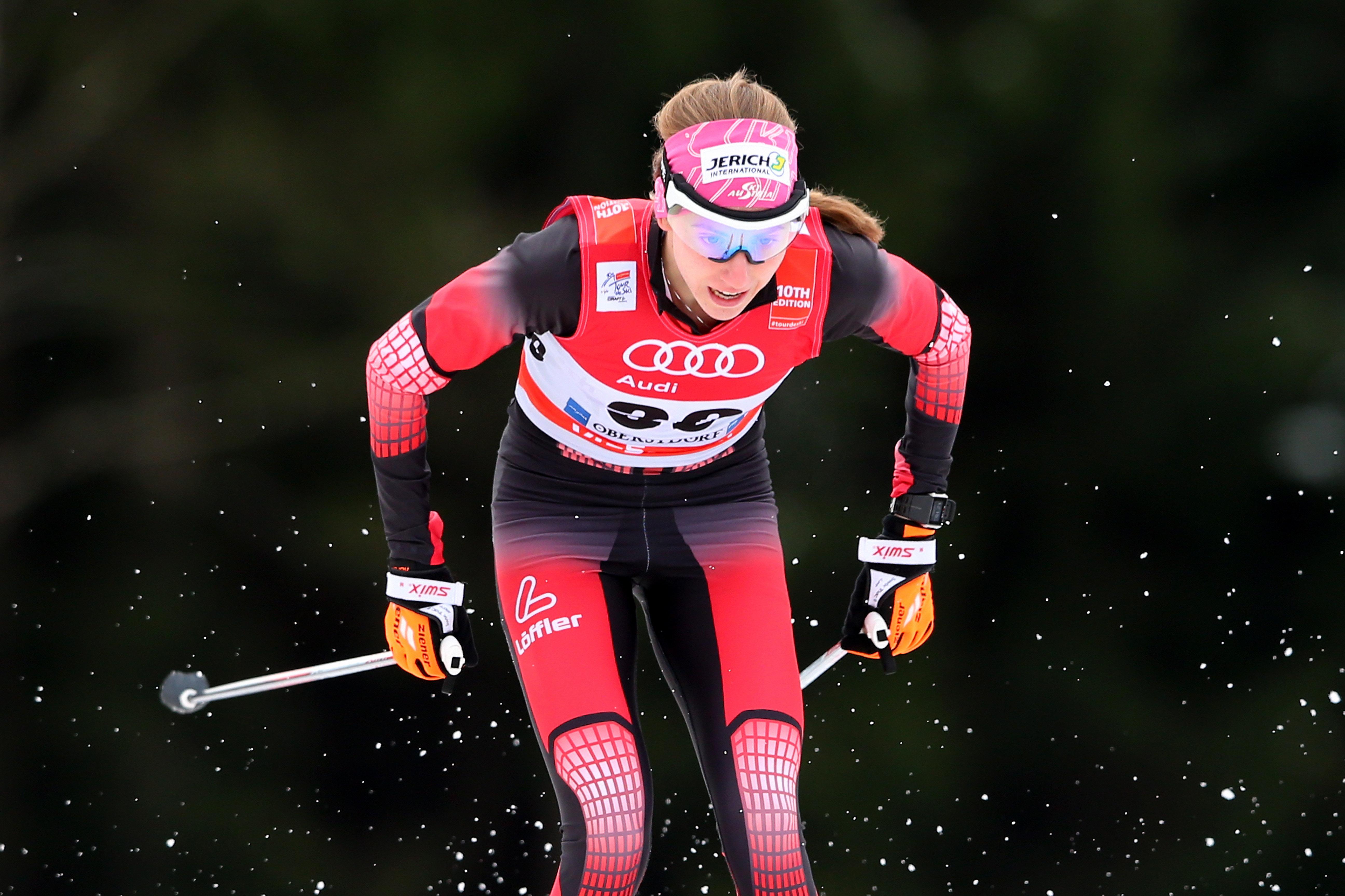 이 크로스컨트리 스키 선수가 메달을 놓친 황당한