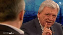 """""""Anne Will"""": Volker Bouffier macht erstaunliches Geständnis zur Flüchtlingspolitik"""