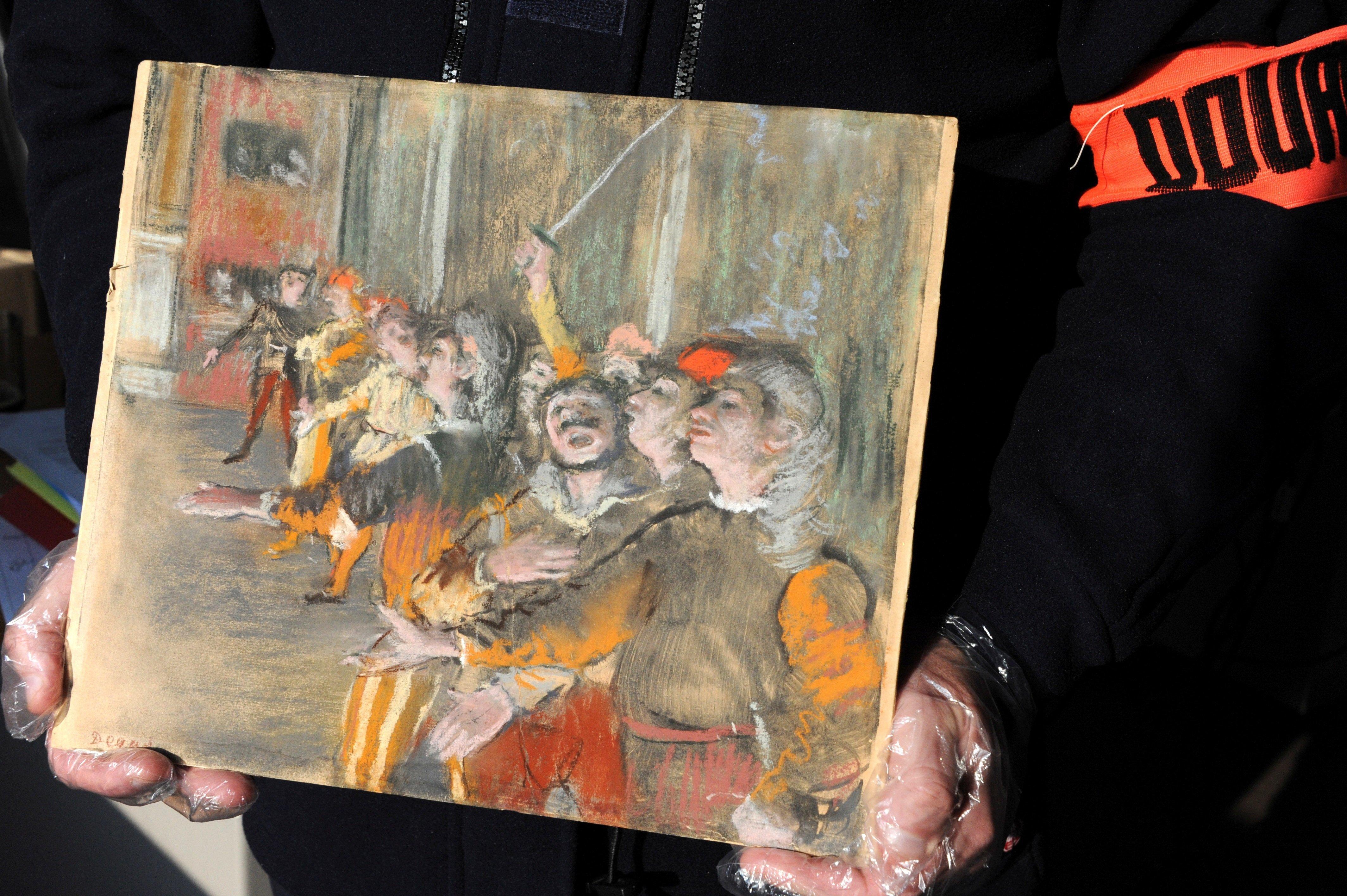 Κλεμμένος πίνακας του Degas βρέθηκε σε πούλμαν έξω από το