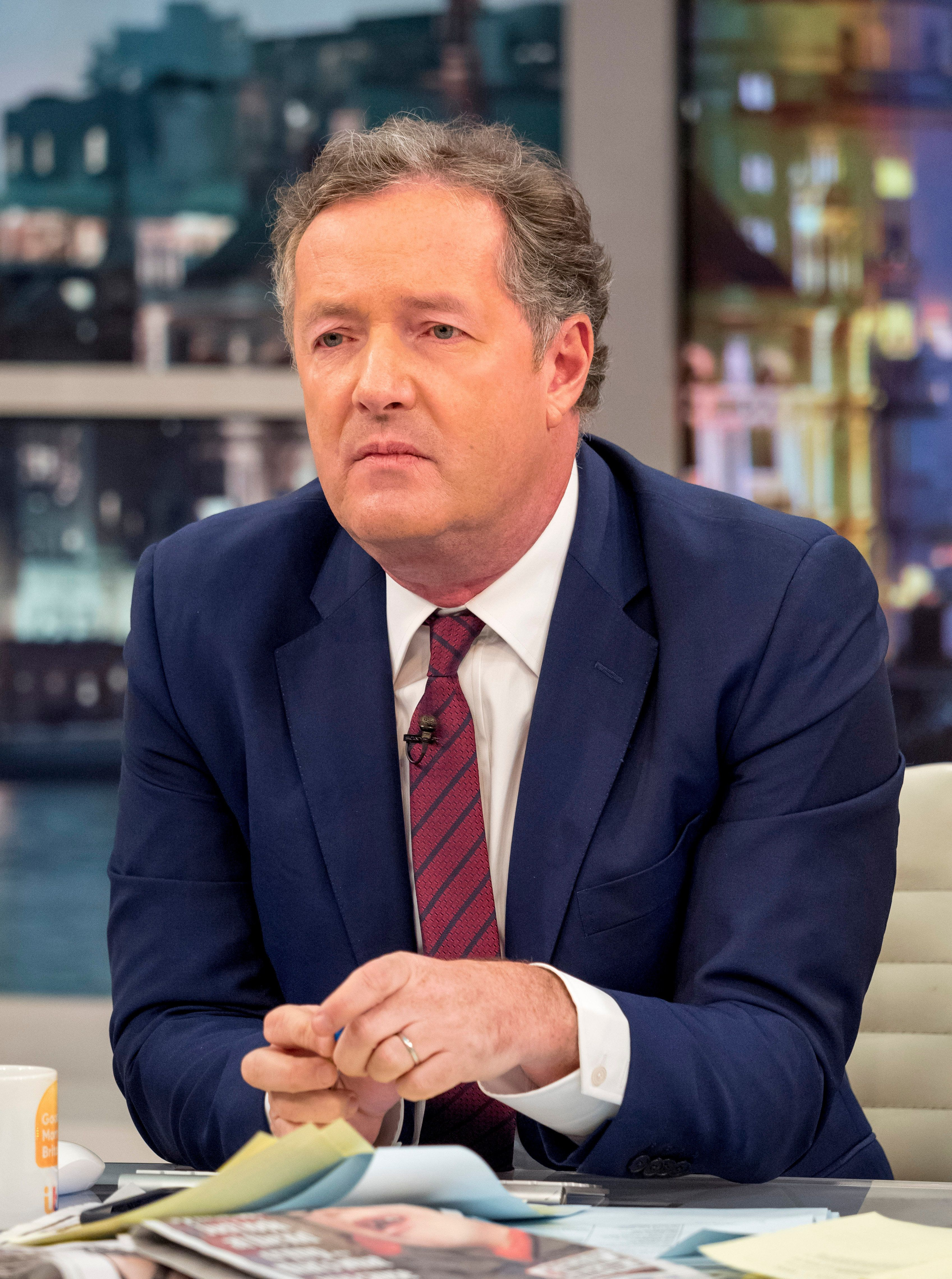 Piers Morgan Reveals He Quit 'Good Morning Britain' Last Year… And How ITV Lured Him