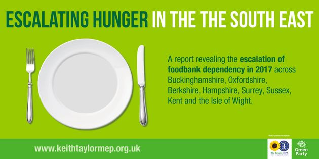 New report looks at foodbank use across the South East of