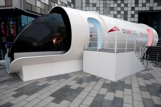 Voici ce à quoi ressemblera un voyage en train hyperloop de Virgin... à 1125