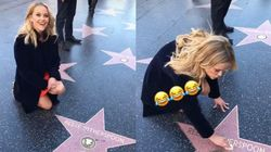 Reese Witherspoon Cleaning Her Own Hollywood Star Is Next-Level