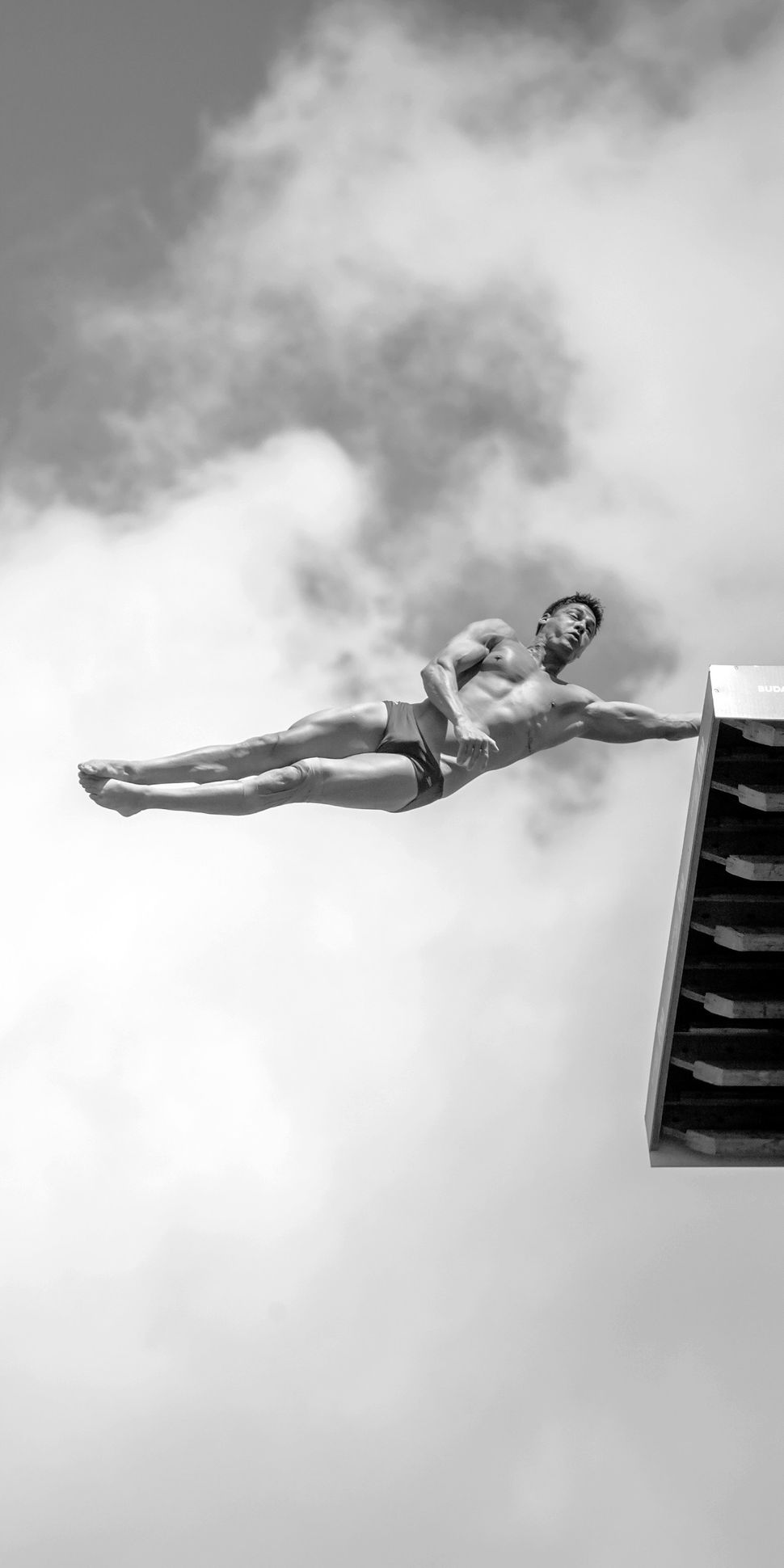 The high-dive competition at the 17th FINA World Championship.