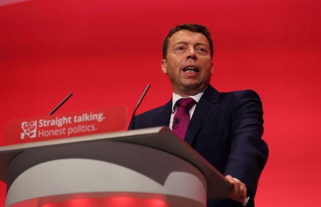 Outgoing general secretary Iain McNicol was given a standing ovation by
