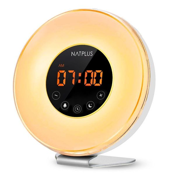 "Similar to many of the other sunrise clocks, <a href=""https://www.amazon.com/Sunrise-Function-Sleepers-Changing-Brightness/dp"