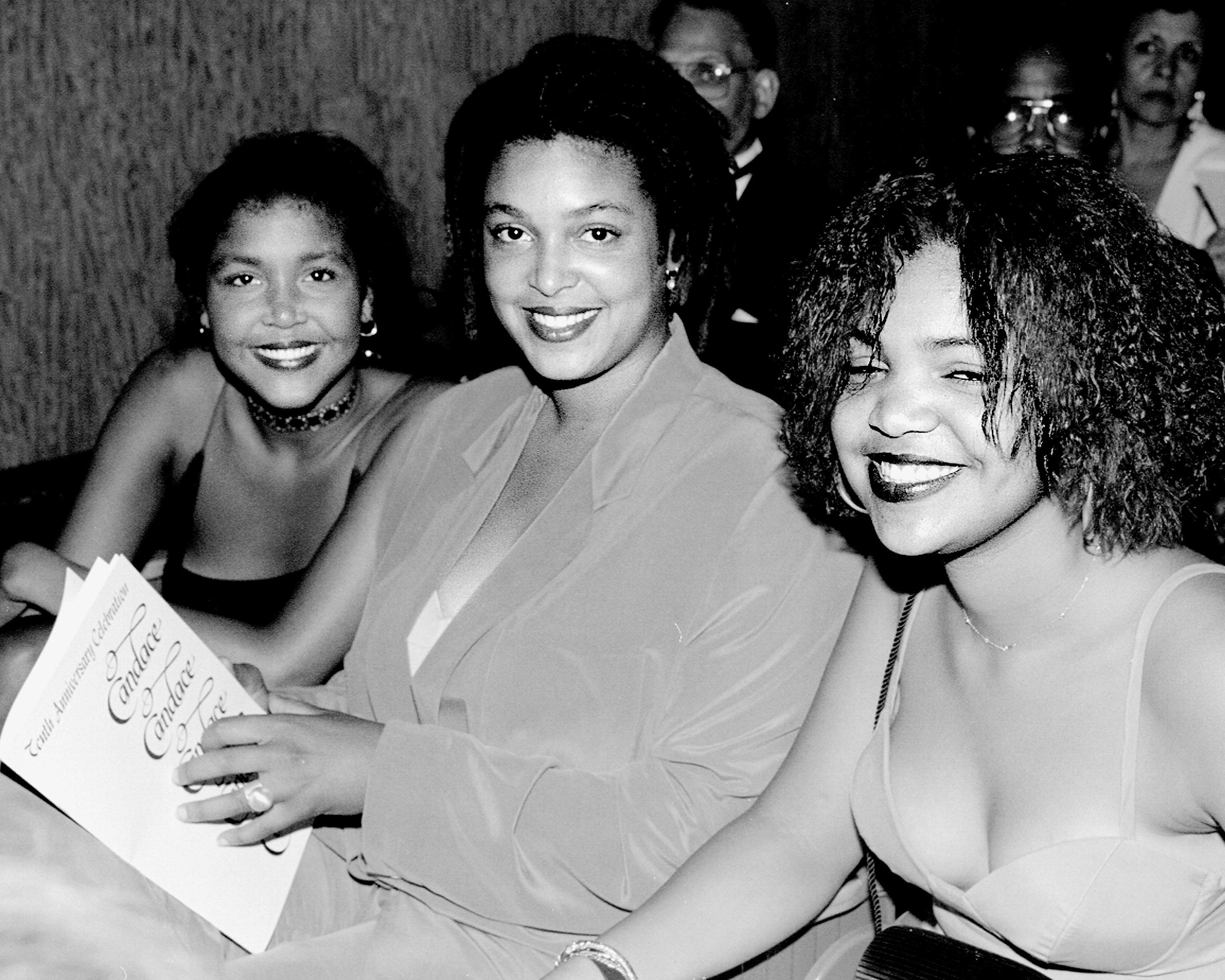 UNITED STATES - JUNE 23:  Bill Cosby daughters Ensa, Erika and Evin at the Candace Awards presentations at The Metropolitan Museum.  (Photo by Richard Corkery/NY Daily News Archive via Getty Images)