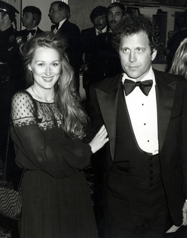Streep, with husband Don Gummer, wore this black dress with lace detailing to the 51st Academy Awards, when she was nominated