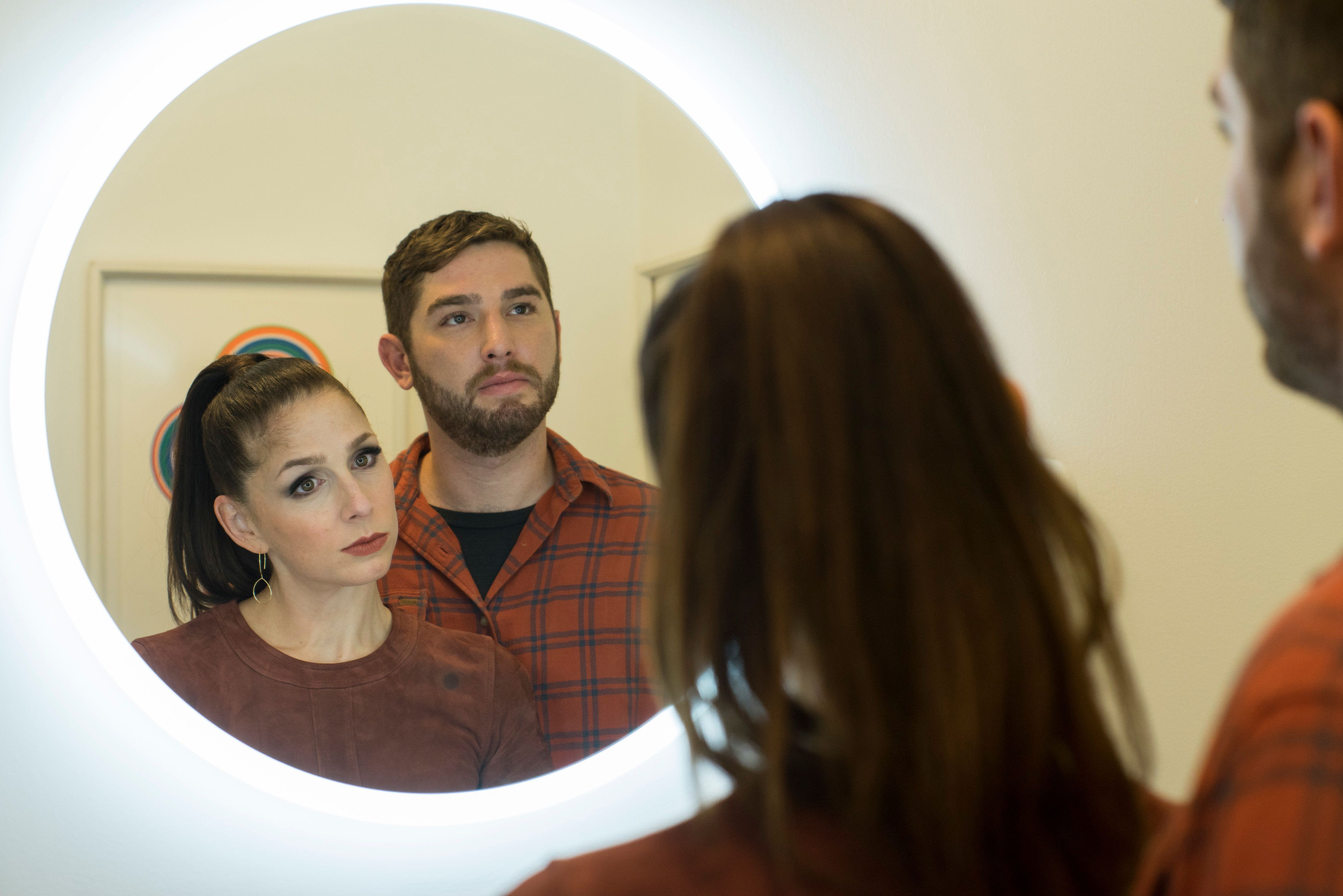 """Shoshannah Stern and Josh Feldman """"have created characters and a relationship that reveal our humanity,"""" director Andre"""