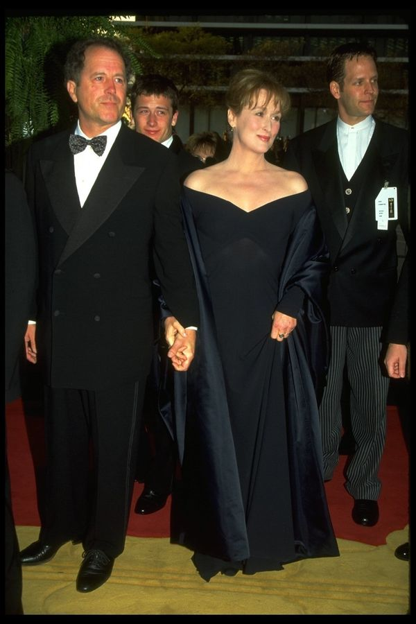 Streep stunned again in another black gown, this time for the 1996 ceremony, where she was nominated in the Best Actress