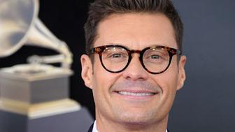 NEW YORK, NY - JANUARY 28:  Ryan Seacrest arrives at the 60th Annual GRAMMY Awards at Madison Square Garden on January 28, 2018 in New York City.  (Photo by Steve Granitz/WireImage)