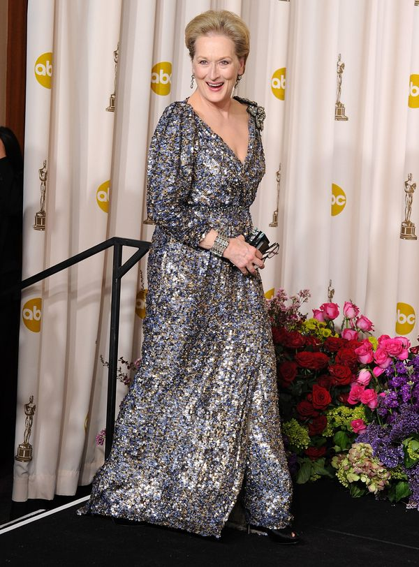 The Oscar-winner was one of the presenters at the 2013 ceremony, where she sparkled in another gorgeous Lanvin gown. Ano