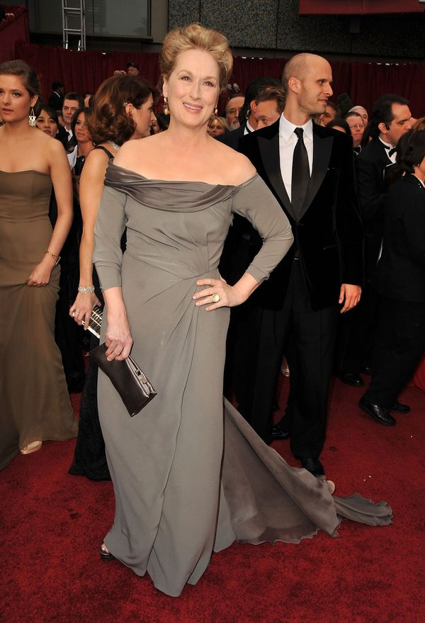 "The star looked absolutely stunning in this Alberta Ferretti gown in 2009, when she was nominated for her role as a nun in ""D"