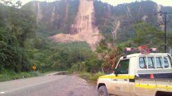 파푸아뉴기니에서 규모 7.5 강진이