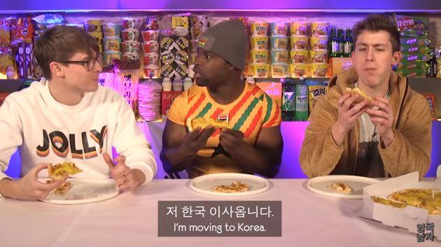 가나 스켈레톤 선수가 고구마 피자 먹고 한국 이민을