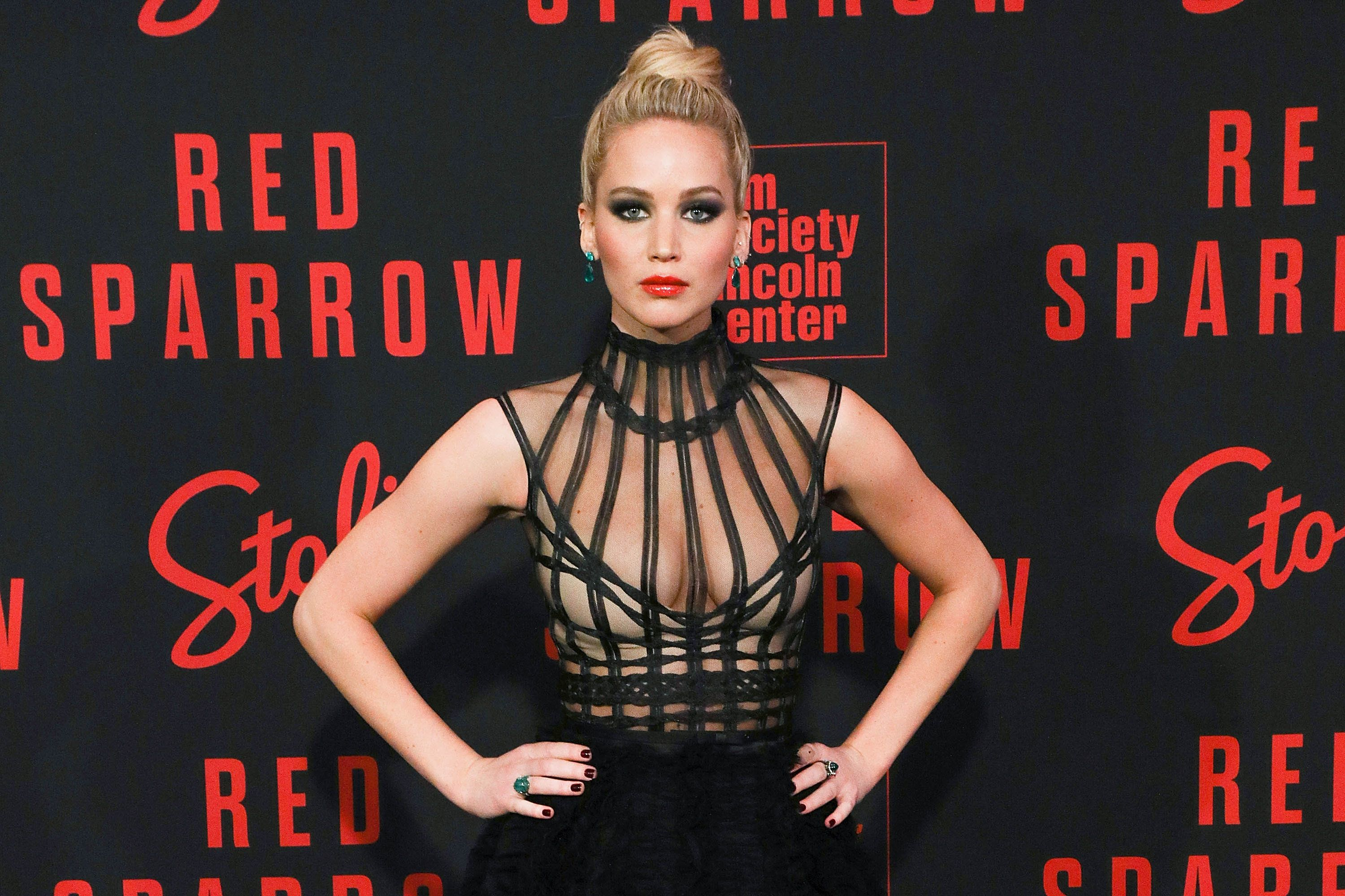 Jennifer Lawrence Says 'Red Sparrow' Nude Scenes Helped Her 'Take Power Back' After Naked Photo