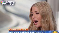 Mit einer Aussage über ihren Vater zeigt Ivanka Trump, wie verdorben ihre Familie
