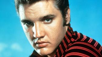 Elvis Presley, circa 1955. (Photo by Getty Images)