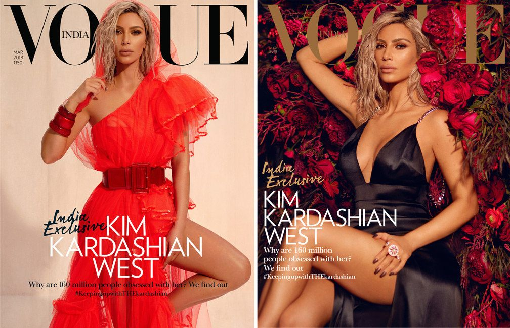 Kim Kardashian West's Vogue India Cover Sparks Debate About