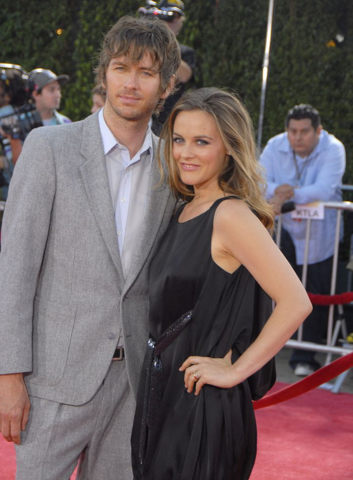 Alicia Silverstone and Christopher Jarecki, pictured in 2008, were married in 2005.