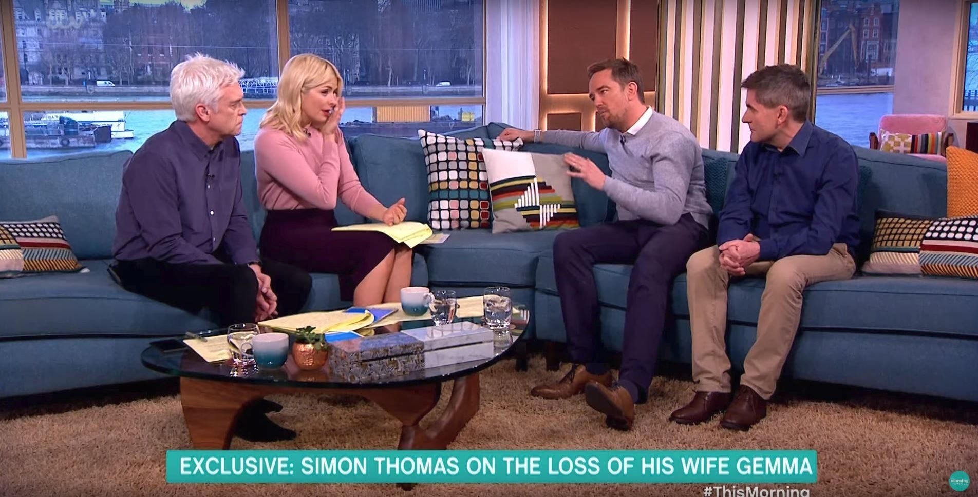 Simon Thomas Has Holly Willoughby And Phillip Schofield In Tears With Tragic Story Of Wife's