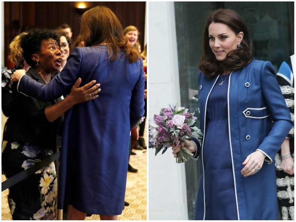 Duchess Of Cambridge Reunited With Midwife Who Assisted At Princess Charlotte's
