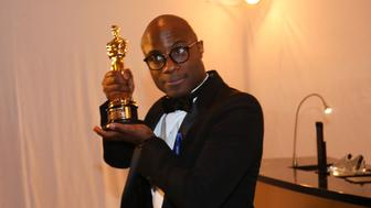 89th Academy Awards - Oscars Governors Ball - Hollywood, California, U.S. - 26/02/17 - Barry Jenkins poses with his Oscar. REUTERS/Mike Blake