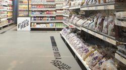 El primer supermercado del mundo con una sección totalmente libre de