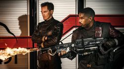 Michael B. Jordan Sets Fire To First 'Fahrenheit 451'