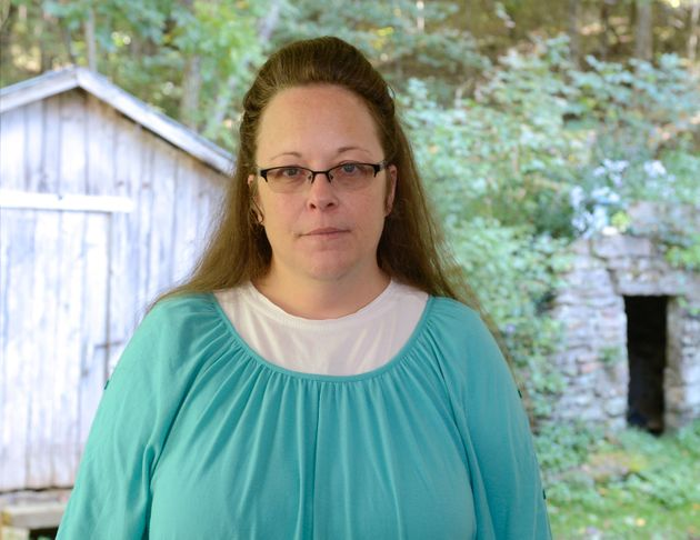 Kim Davis of Kentucky's Rowan county has been embraced by the conservative Christian crowd because of...