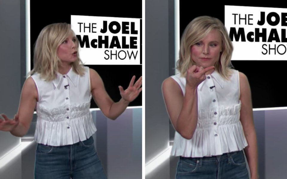 Kristen Bell Opens Up About Revolting Side Of Parenthood With Gross-Out
