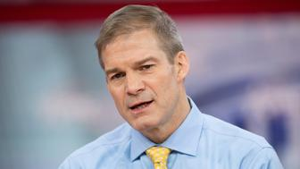OXON HILL, MD, UNITED STATES - 2018/02/23: Representative Jim Jordan (R), Representative for Ohio's 4th congressional district, at the Conservative Political Action Conference (CPAC) sponsored by the American Conservative Union held at the Gaylord National Resort & Convention Center in Oxon Hill. (Photo by Michael Brochstein/SOPA Images/LightRocket via Getty Images)