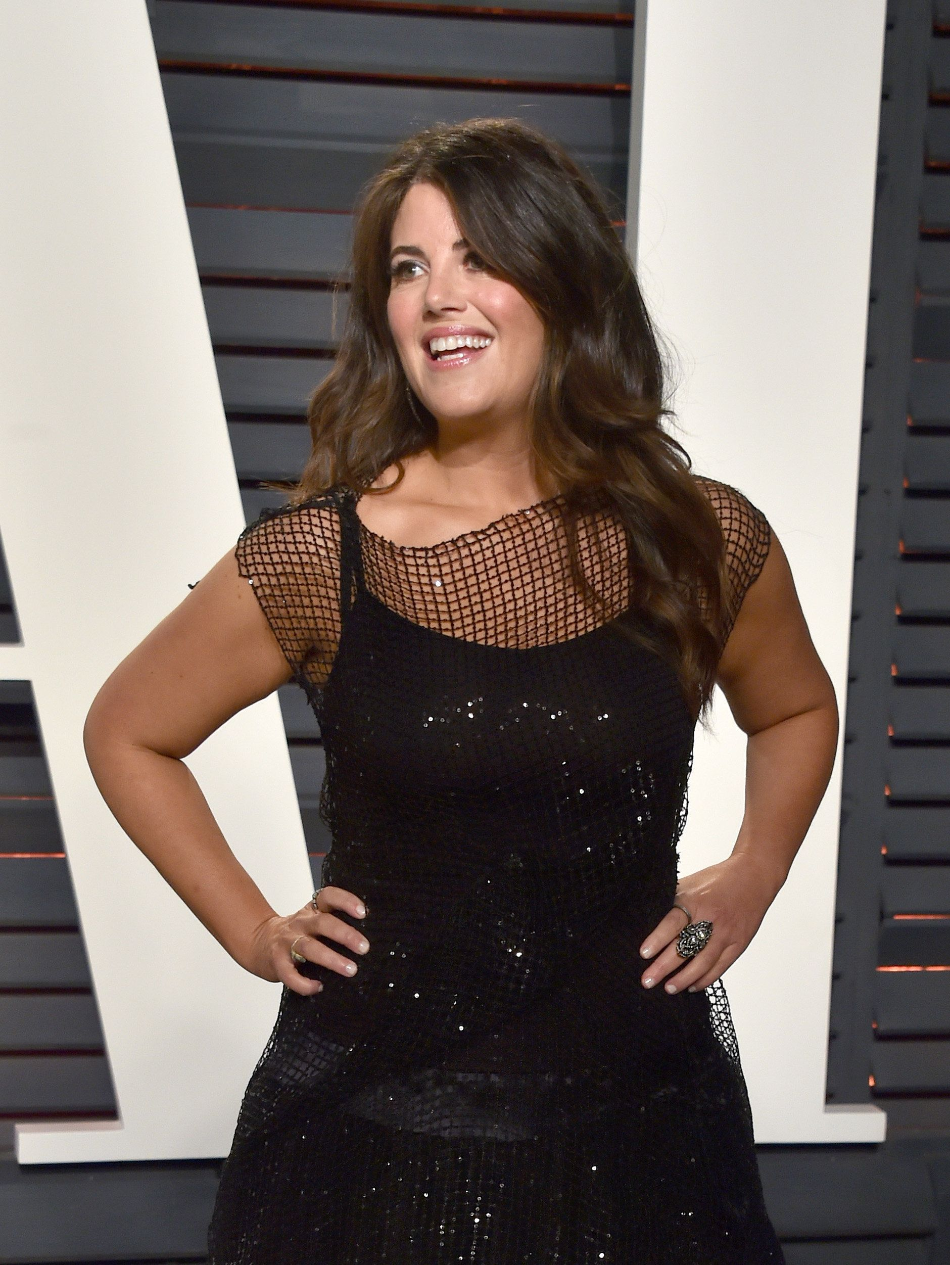 BEVERLY HILLS, CA - FEBRUARY 26:  Television personality Monica Lewinsky attends the 2017 Vanity Fair Oscar Party hosted by Graydon Carter at Wallis Annenberg Center for the Performing Arts on February 26, 2017 in Beverly Hills, California.  (Photo by Alberto E. Rodriguez/WireImage)