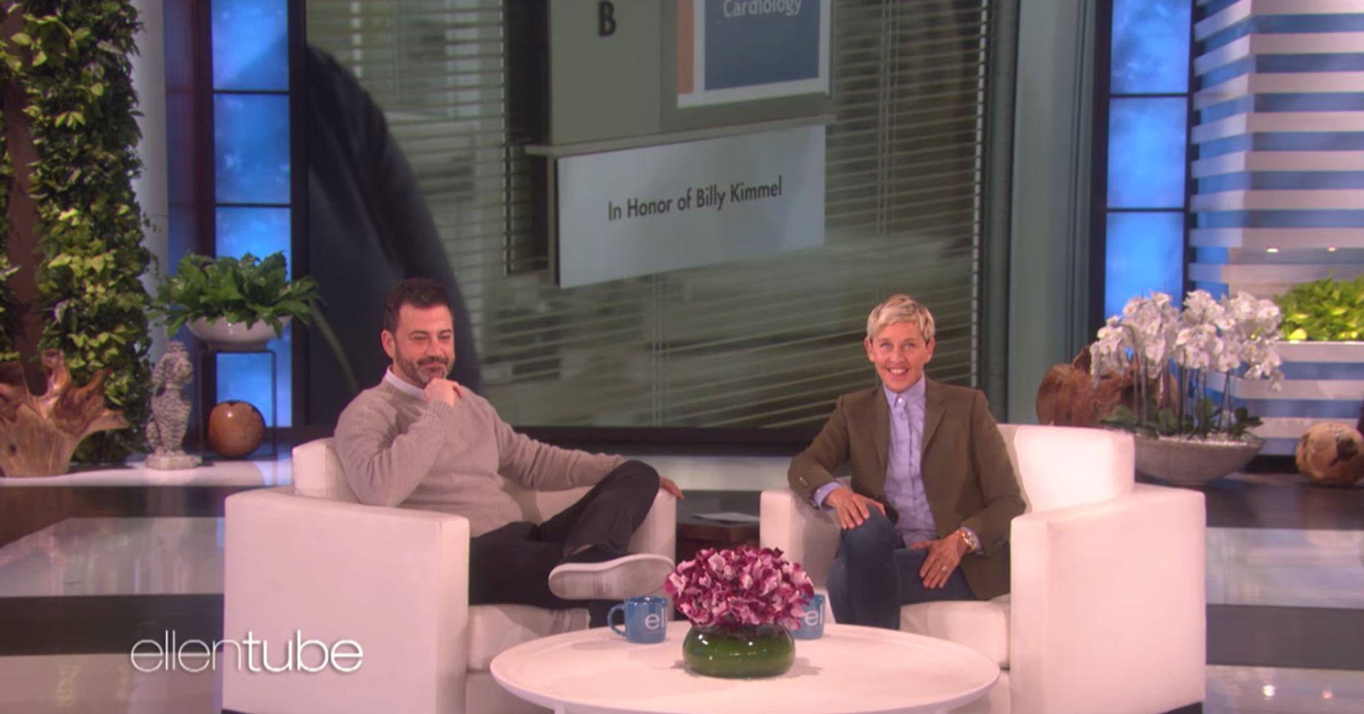 Ellen DeGeneres Has Children\'s Hospital Room Dedicated To Jimmy ...