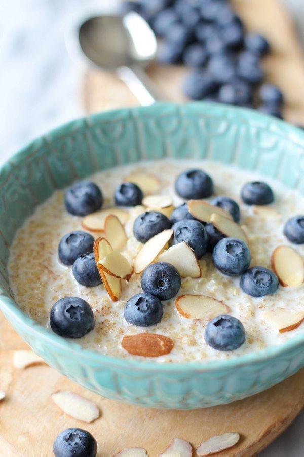 "<strong>Get the <a href=""https://damndelicious.net/2013/09/13/blueberry-breakfast-quinoa/"" target=""_blank"">Blueberry Breakfas"
