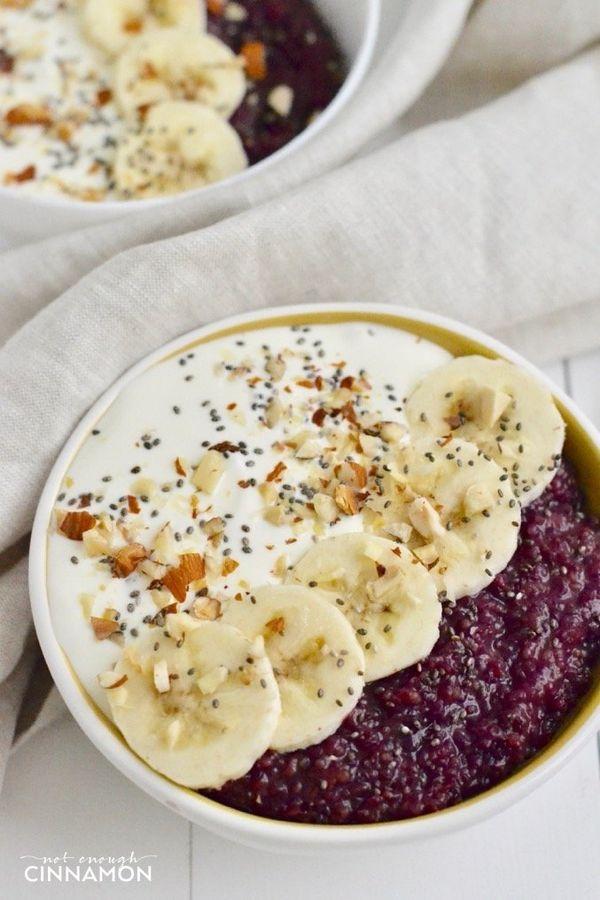 """<strong>Get the <a href=""""https://notenoughcinnamon.com/2017/03/23/berry-quinoa-breakfast-bowl/"""" target=""""_blank"""">Berry Quinoa"""