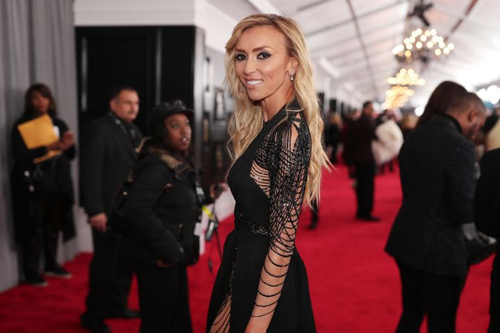 TV personality Giuliana Rancic attends the 60th Annual Grammy Awards at Madison Square Garden on Jan. 28, 2018 in New York Ci