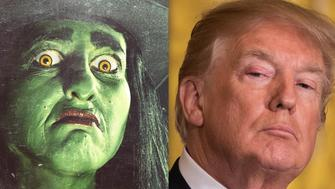 Trump and Witch