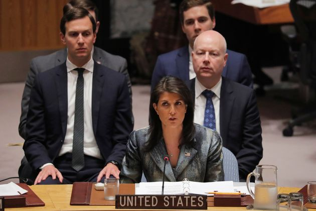 Kushner has been present at recent UN Security Council