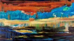 Ατομική έκθεση ζωγραφικής της Μάγδας Αποστόλου στην Gallery Art Πρίσμα στον
