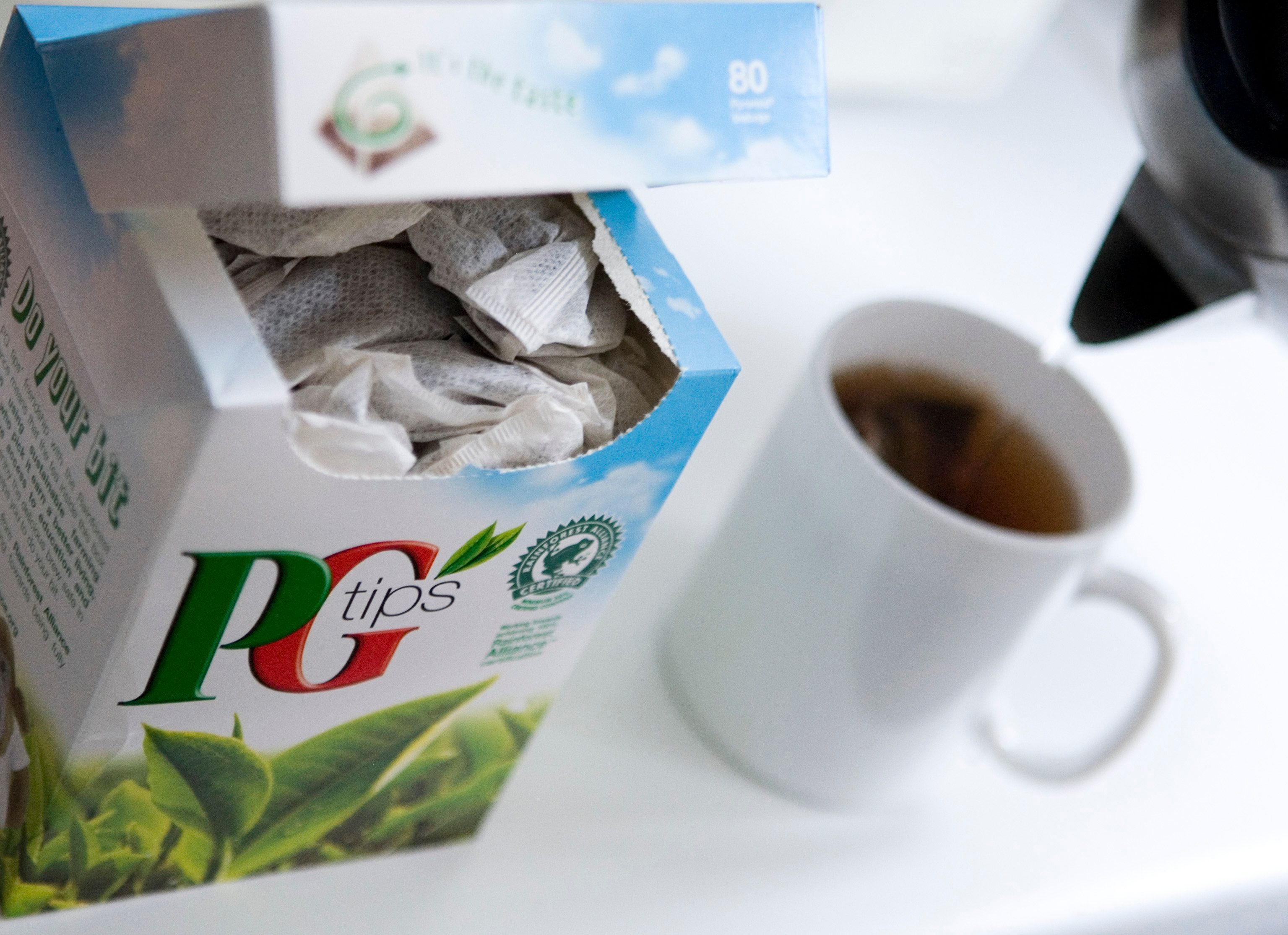 PG Tips Launches Plastic-Free Tea Bags That Are 100%