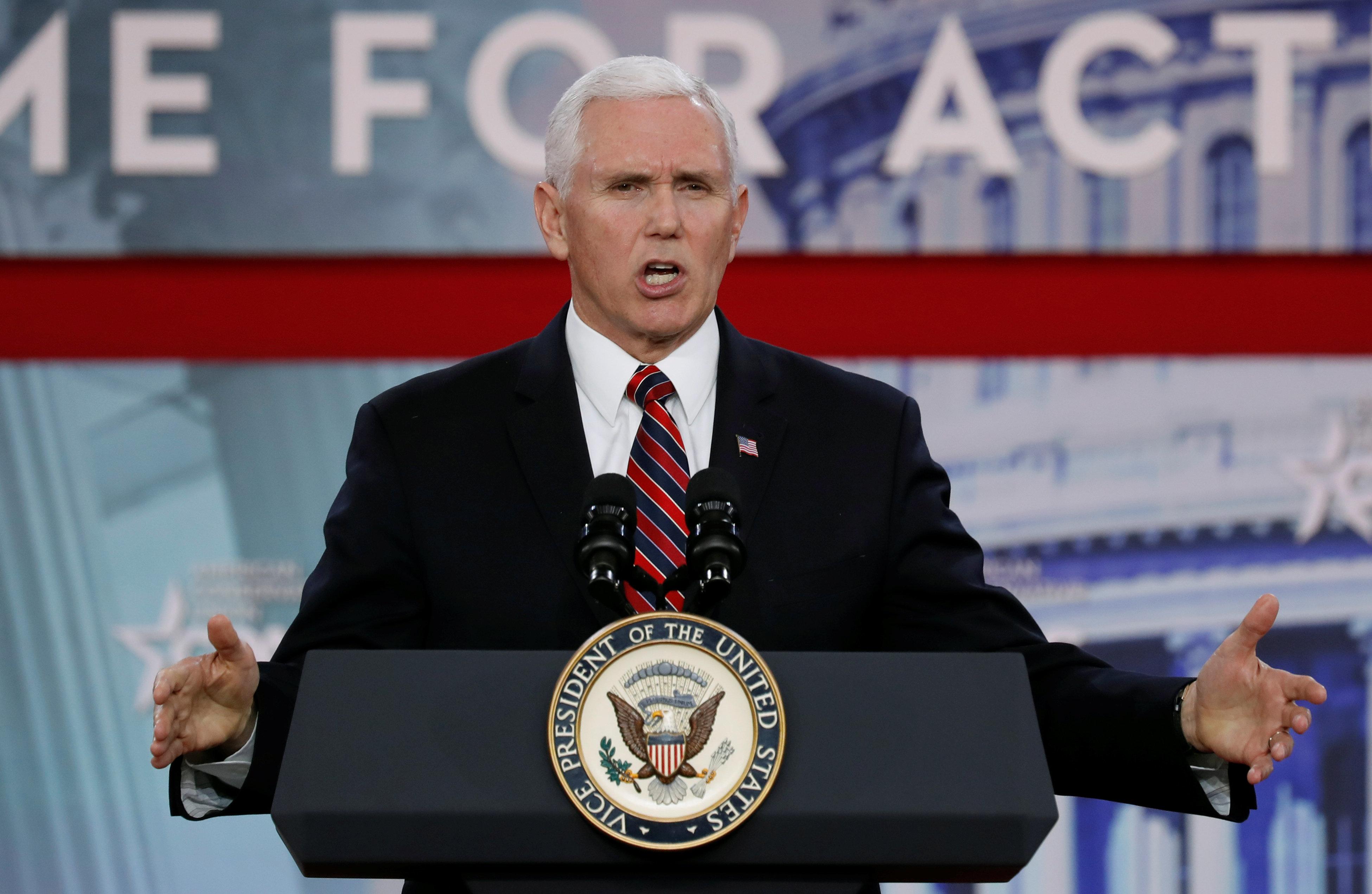 Mike Pence suggère que les avortements légaux aux États-Unis pourraient se terminer «à notre