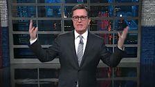 Stephen Colbert Celebrates Jared Kushner's Security Downgrade