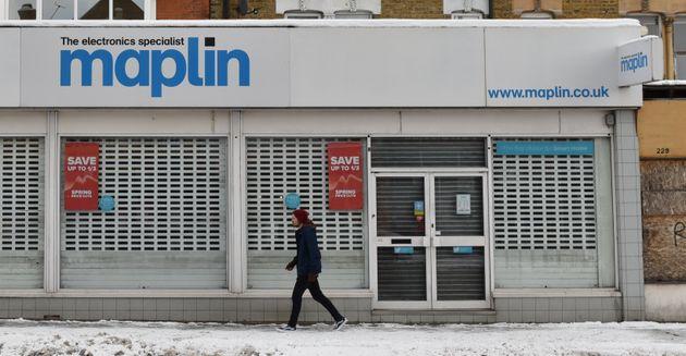 Maplin's announcement puts 2,500 jobs at
