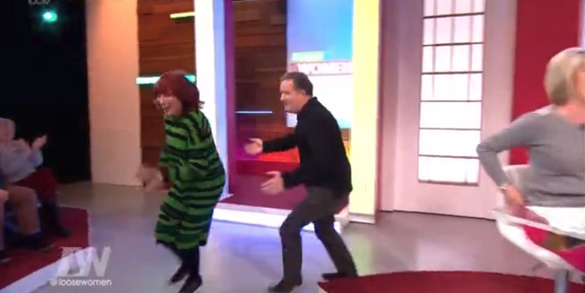 Janet Street Porter Is All Of Us As She Runs Away From Piers