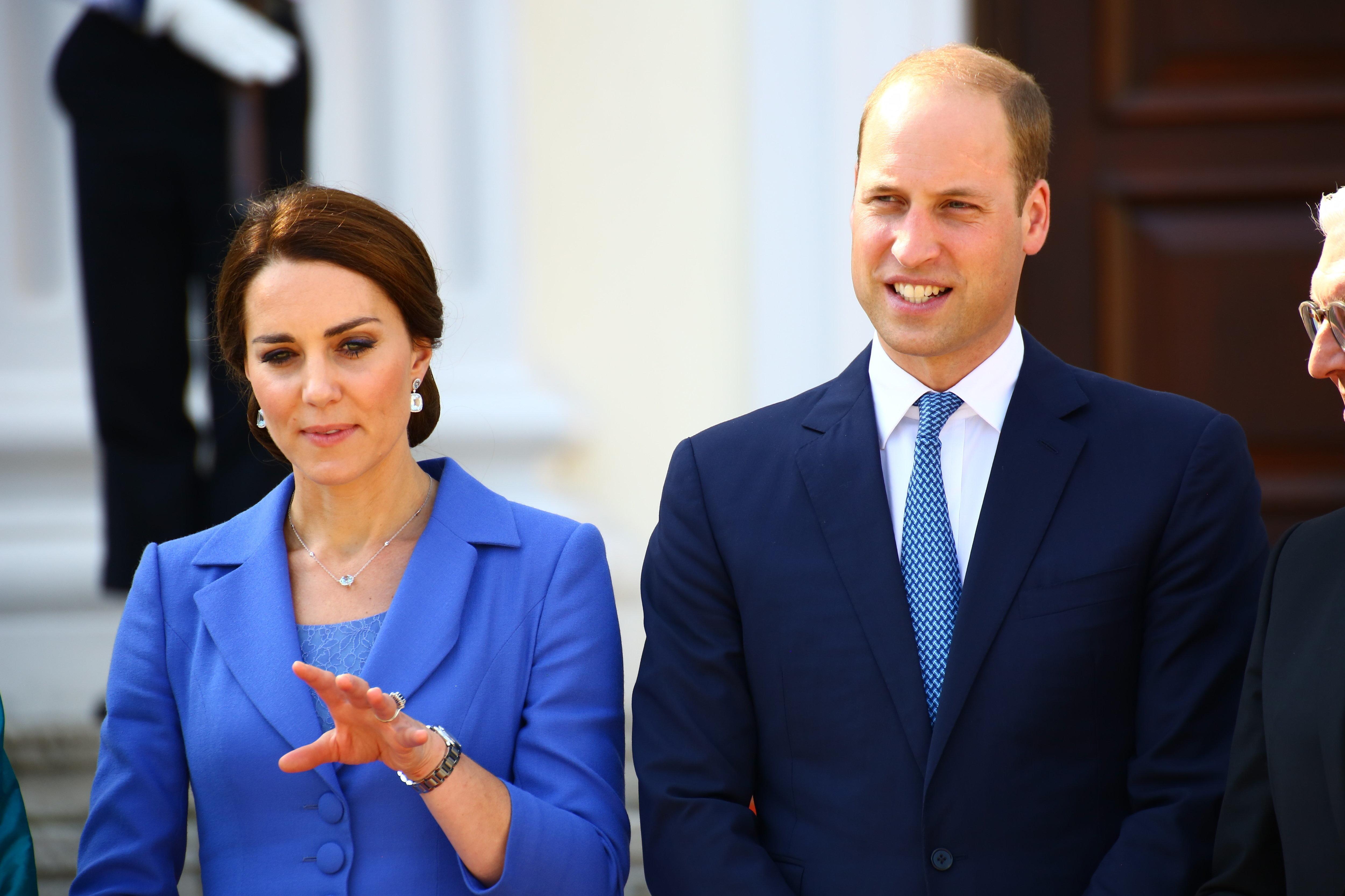 Mit einem fiesen Satz macht sich Herzogin Kate über Prinz William lustig