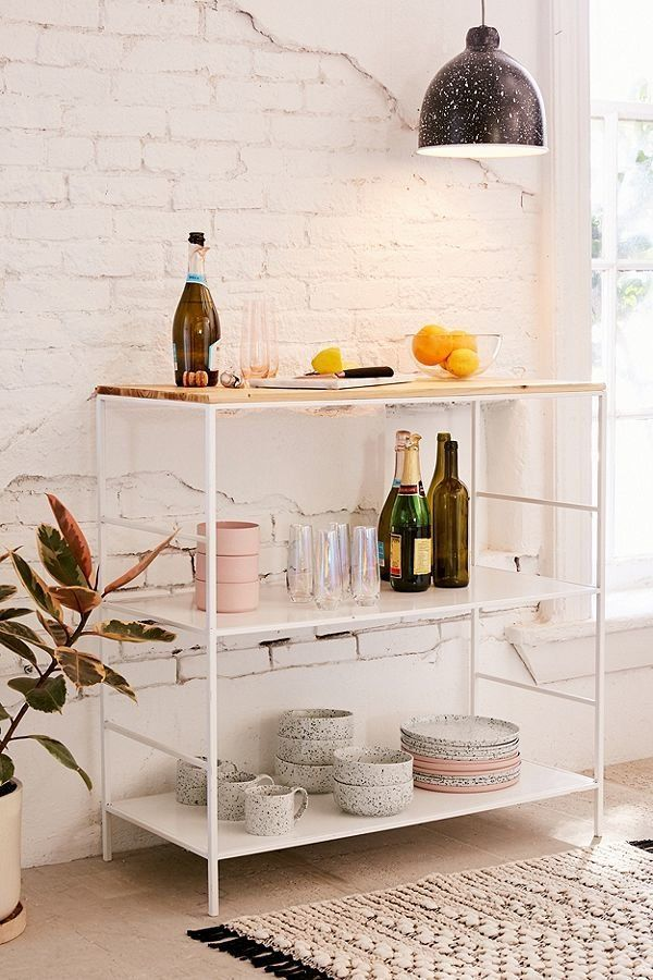"Whether you use this as an island, a standing breakfast bar, or a standing pantry, <a href=""https://www.urbanoutfitters.com/s"