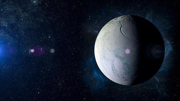 Πιθανός εντοπισμός ιχνών εξωγήινης ζωής στον Εγκέλαδο, φεγγάρι του