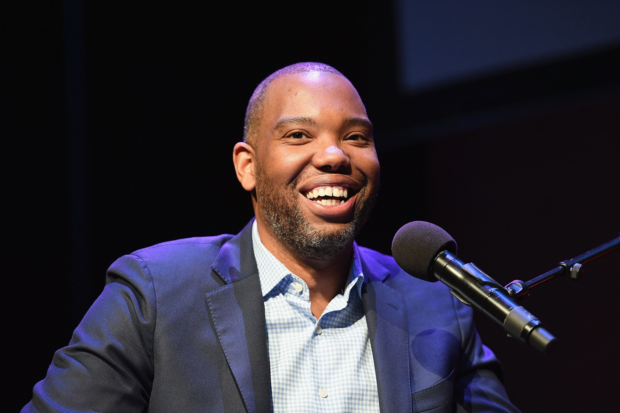 NEW YORK, NY - FEBRUARY 27: Author Ta-Nehisi Coates attends a panel at The Apollo Theater on February 27, 2018 in New York City.  (Photo by Shahar Azran/WireImage)
